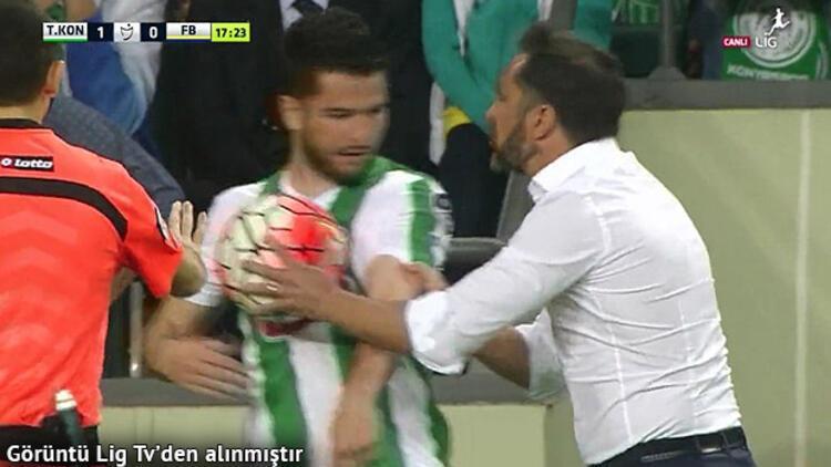 Vitor Pereira ile Torku Konyasporlu oyuncu arasında kriz!