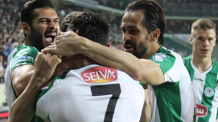 Torku Konyaspor 2-1 Fenerbahçe