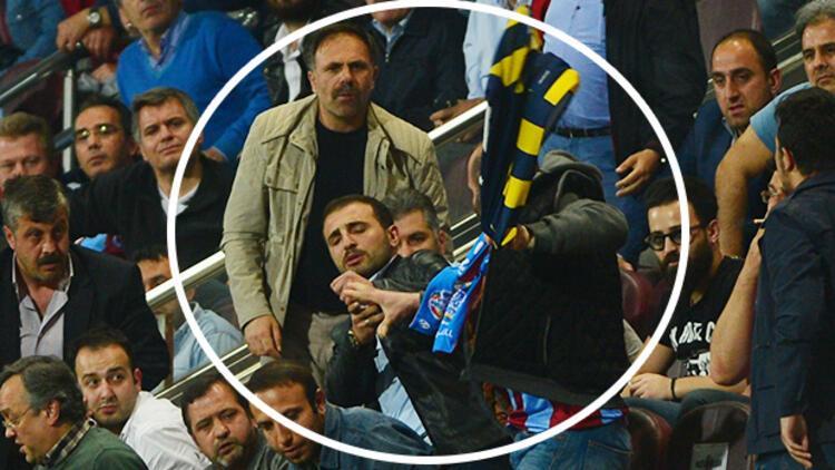 Fenerbahçe forması alan Trabzonsporlu'ya dayak!
