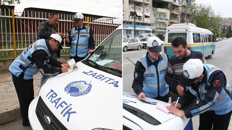 Tanıtım kartı olmayan 200 şoför ve araç sahibine ceza yağdı