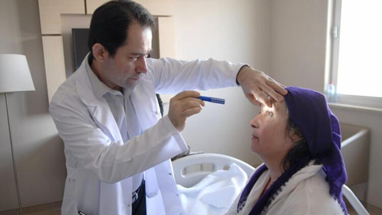 Migren sandı gözleri karardı tümör çıktı