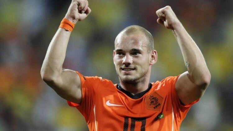 Galatasaray'a Sneijder müjdesi!
