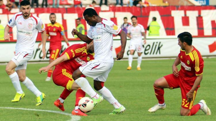 Samsunspor: 0 - Alima Yeni Malatyaspor: 0