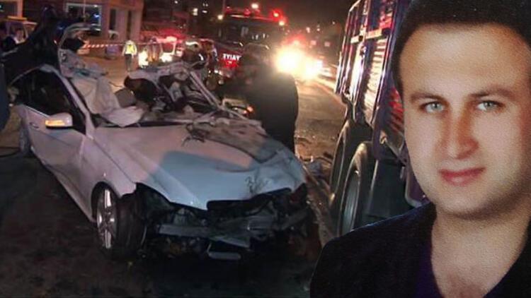Maltepede feci kaza... İşadamı Mehmet Sağdıç yaşamını yitirdi