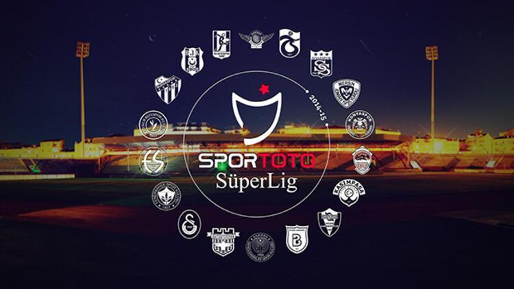 İşte Süper Lig'de 34. hafta programı