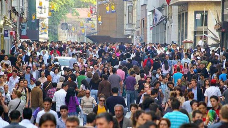 Türkiyenin genç nüfusu belli oldu