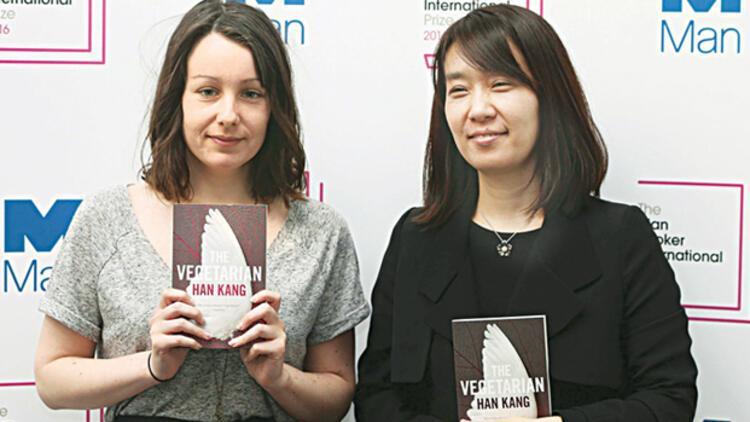 man Booker Ödülü 'Vejetaryen'in oldu