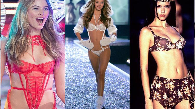 Dünden bugüne Victoria's Secret mankenleri