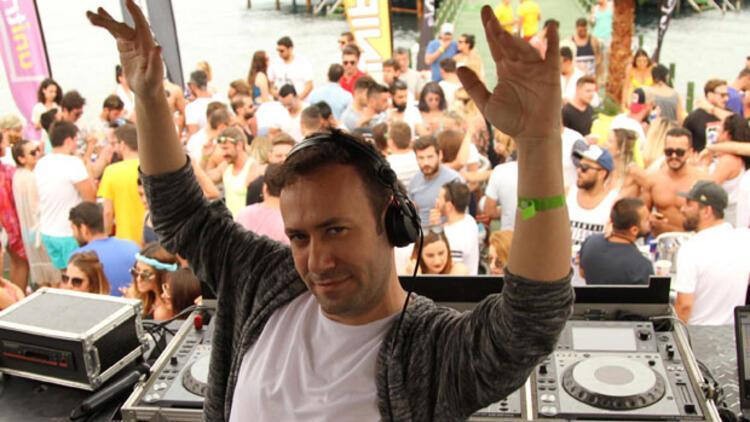 Ünlü DJ'ler Bodrum'a damga vurdu