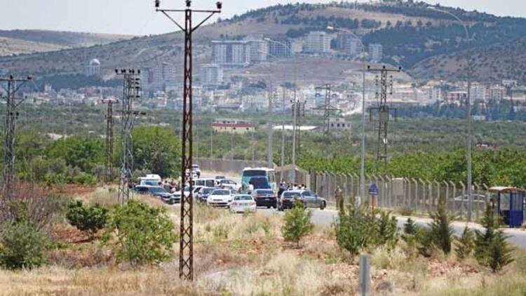 Gaziantep'e Katyuşa roketi