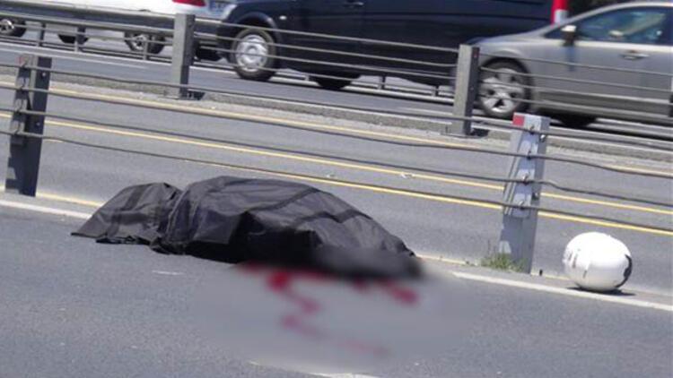 Genç motosikletçi kazada hayatını kaybetti