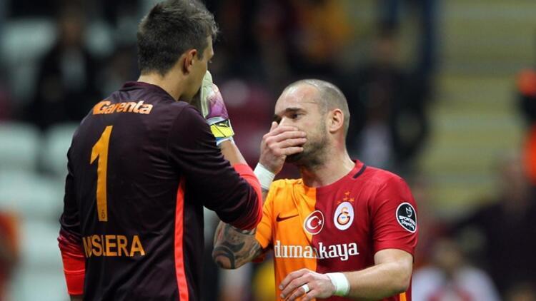 Sneijder'in kalmak için şartı var!