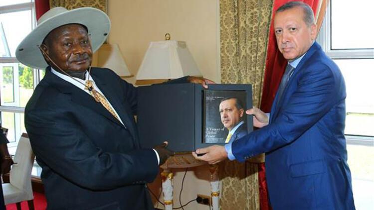 Cumhurbaşkanı Erdoğan Ugandalı mevkidaşı ile görüştü