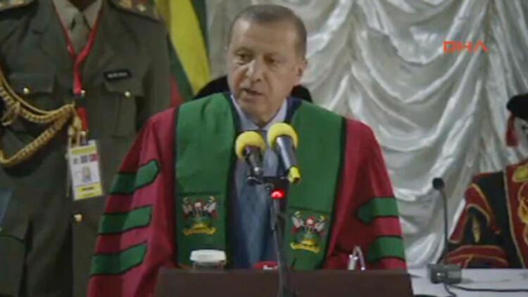 Cumhurbaşkanı Erdoğan: Uganda'da büyük bir alan istedim