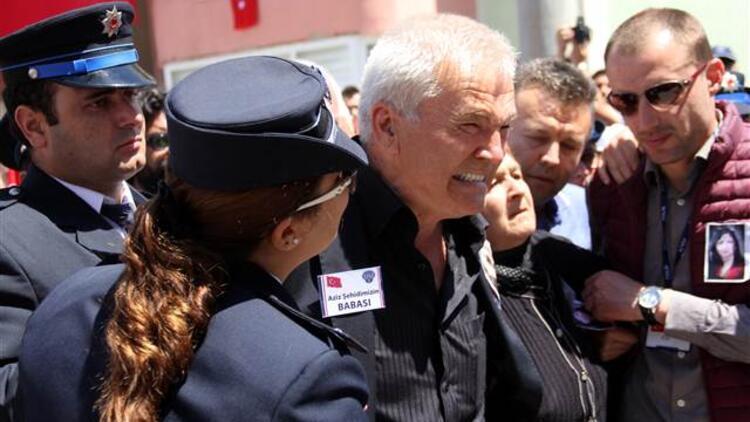 Edirne'de şehit polis Nefize Özsoy'un cenazesinden sonra arbede!