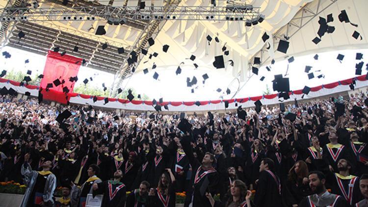 Bilkent Üniversitesi 2016 mezunlarını uğurladı