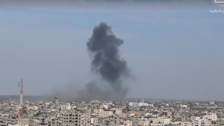 Gazze'ye hava saldırısı mı?