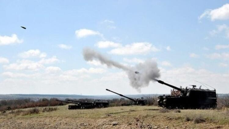 Türkiye'ye atış hazırlığındaki IŞİD hedefleri vuruldu