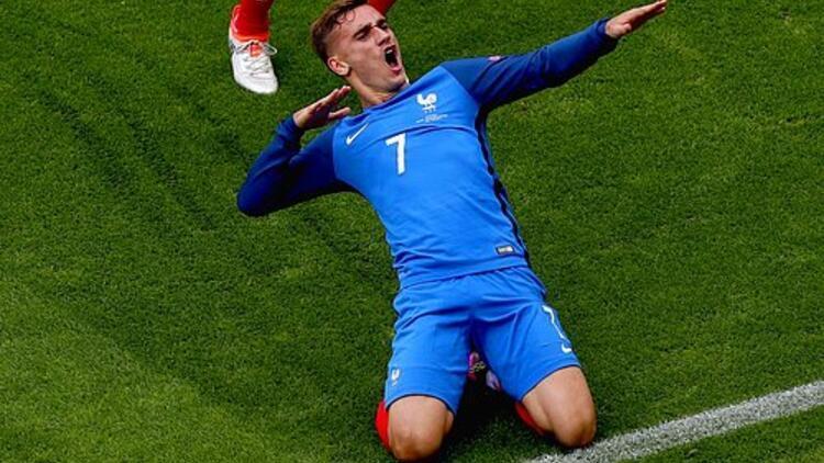EURO 2016nın en iyi oyuncusu Griezmann