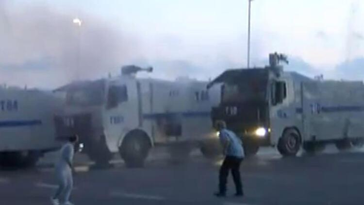 Boğaz Köprüsü'nde tank atışı: 3 yaralı