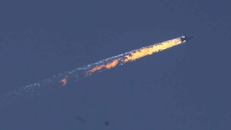 Rus uçağını vuran pilotlar tutuklandı