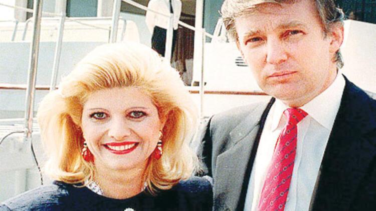Donald Trump'a eski eşi Ivana Trump'tan destek
