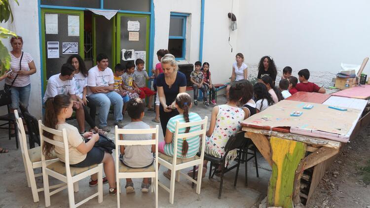 Mülteci çocuklara yaz etkinliği