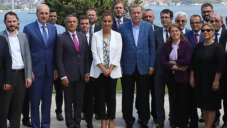 Cumhurbaşkanı Erdoğan: Medyayı takdir boynumun borcu
