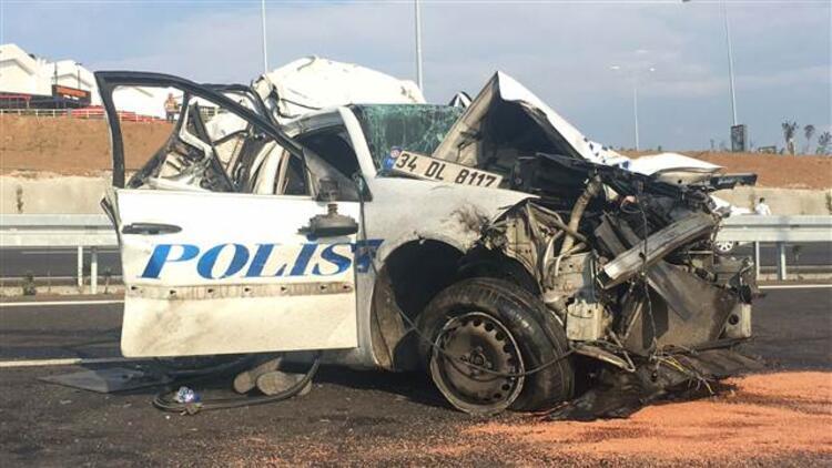 Osmangazi Köprüsü'nde ilk ölümlü kaza: Bir polis şehit