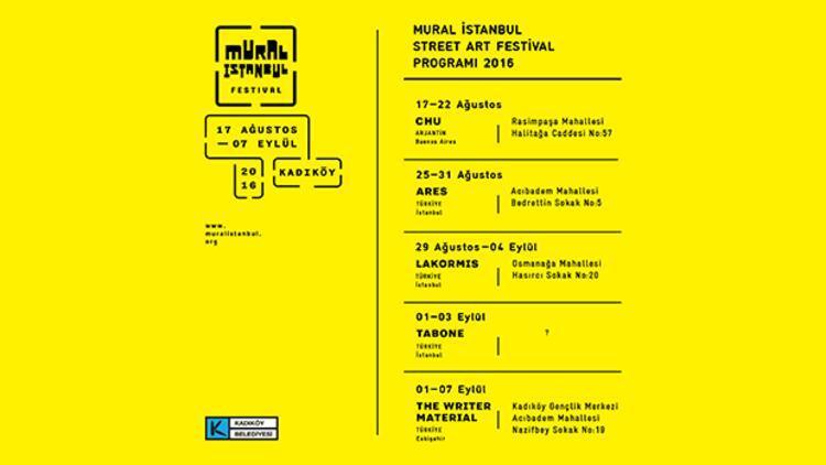 İstanbul Mural Festivali 5. yılında