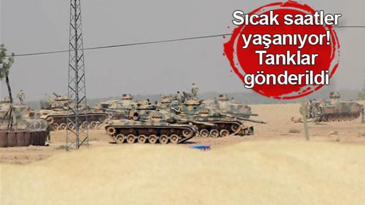 Son dakika haberi: Sınırda hareketli gün! Tanklar bölgede...