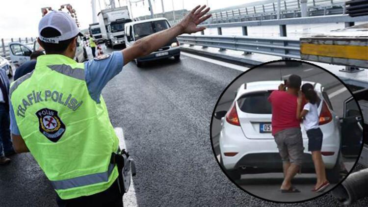 3. Köprüde selfie çılgınlığı kaza dinlemiyor