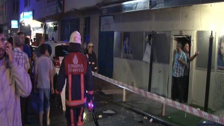İstanbul Çağlayan'da eğlence mekanına ses bombası atıldı: 4 yaralı