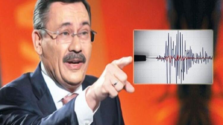 Melih Gökçekten yeni deprem iddiası