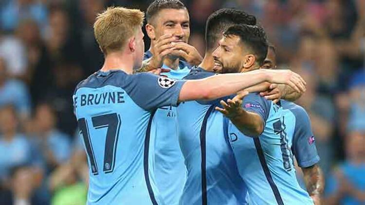 Manchester City 4-0 B. Mönchengladbach / MAÇIN ÖZETİ