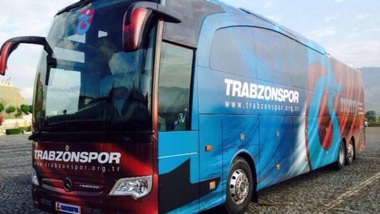 Trabzonspor'da uçağın ardından otobüslü kombine dönemi