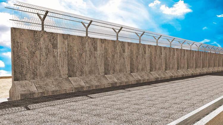 Suriye sınırına 700 kilometrelik güvenlik duvarı daha yapılacak