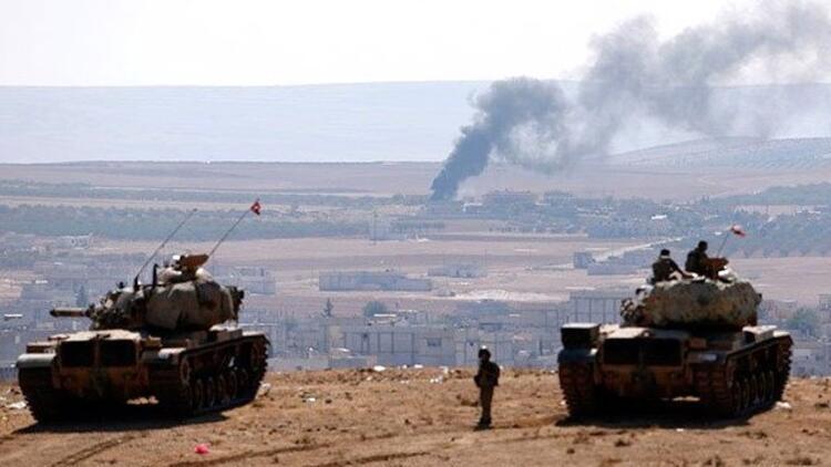 TSK'dan Fırat Kalkanı açıklaması: Bin 943 hedef vuruldu...