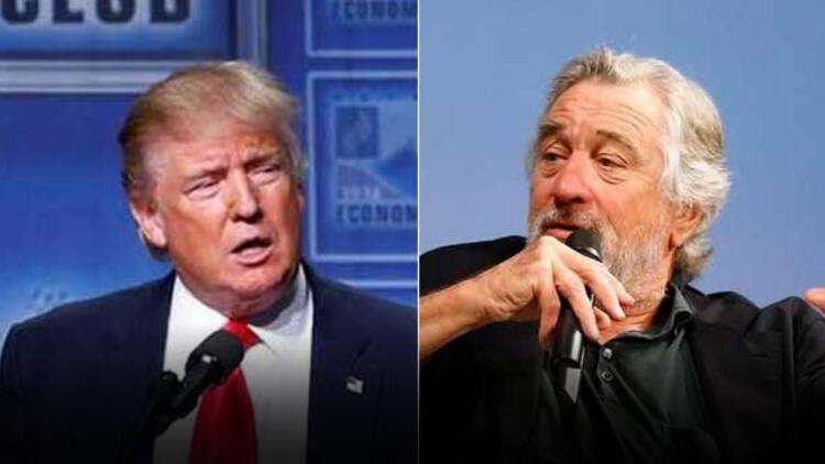 Robert De Niro'dan Trump'a: Pervasızca aptal