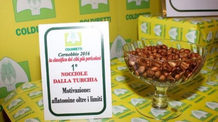 İtalya'da en tehlikeli gıdalar listesinde Türk fındığı ilk sırada