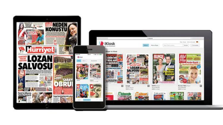 iKiosk platformunda Türkçe yayın
