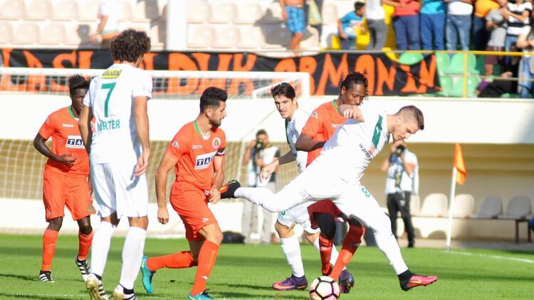 Aytemiz Alanyaspor 0-2 Bursaspor / MAÇIN ÖZETİ