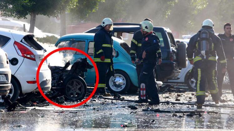Antalya patlamasındaki fotoğrafın sırrı çözüldü