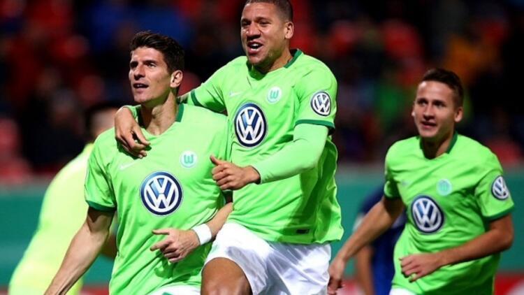 Gomez attı Wolfsburg turladı