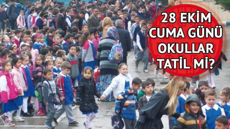 Yarın okullar tatil mi? Binlerce öğrenci merak ediyor..