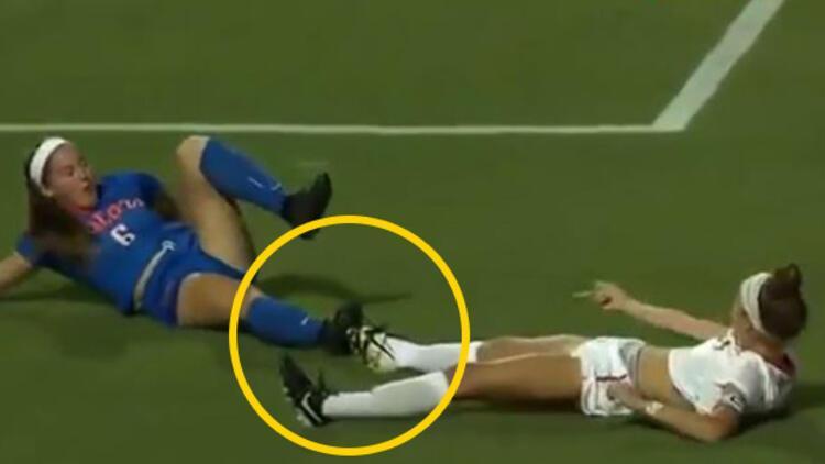 Futbol maçında inanılmaz penaltı!