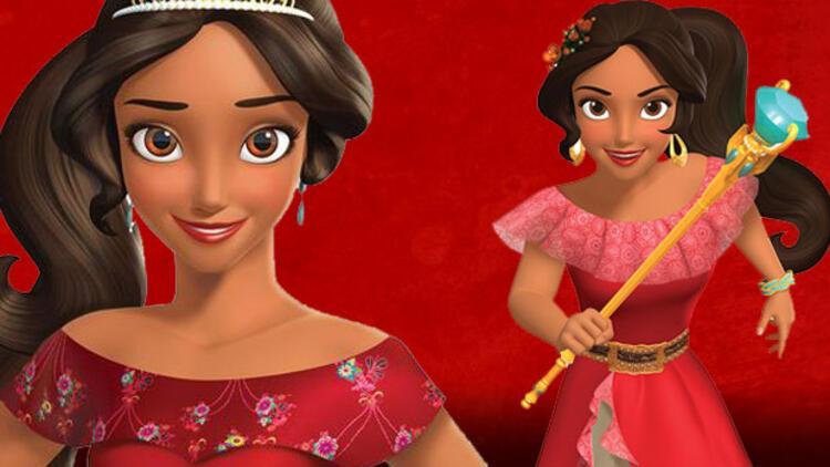 Prens Aramayan Disney Prensesi Elena