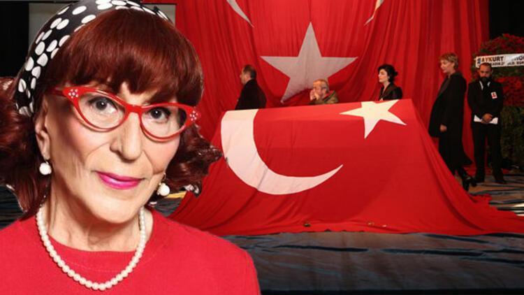 Türk tiyatrosunun usta ismi Gönül Ülkü Özcan son yolculuğuna uğurlandı