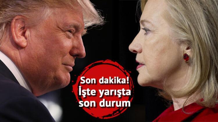 ABD başkanlık seçimlerinde son dakika gelişmesi... Ve ilk sonuçlar açıklandı!
