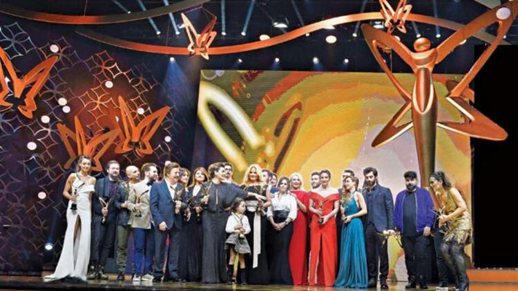 Pantene Altın Kelebek Ödülleri'ne yıldız yağdı